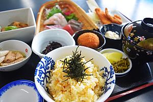 第5位「丸健水産の海鮮ひつまぶし」